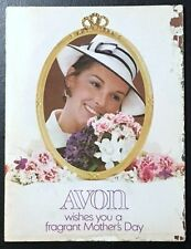 1972 Avon Sales Catalog Book Brochure Campaign 10 Mothers Day Vintage Antique