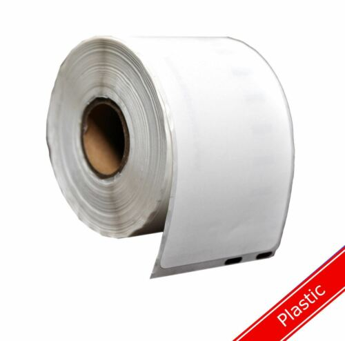 Durable Polypropylene Thermal DYMO Plastic Compatible White Address Labels