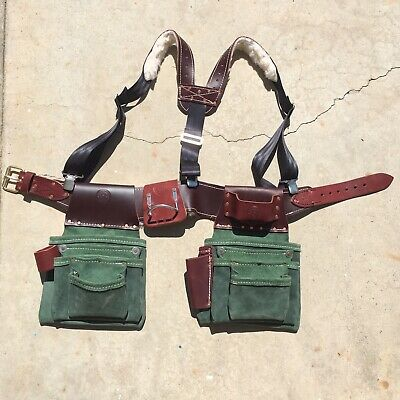 Lefty Pro Triple Framing Tool Belt Bag