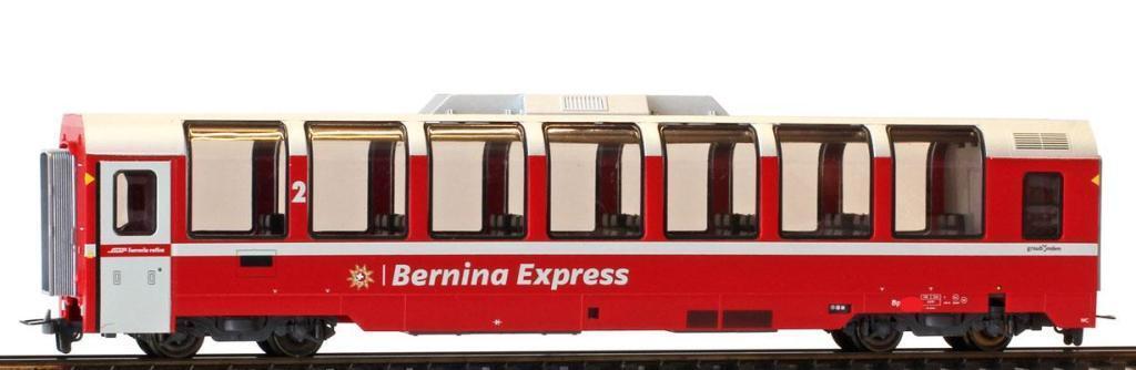 BEMO 3294 142/3294142 RHB BP 2502 Panorama AUTO Bernina Express traccia h0m NUOVO