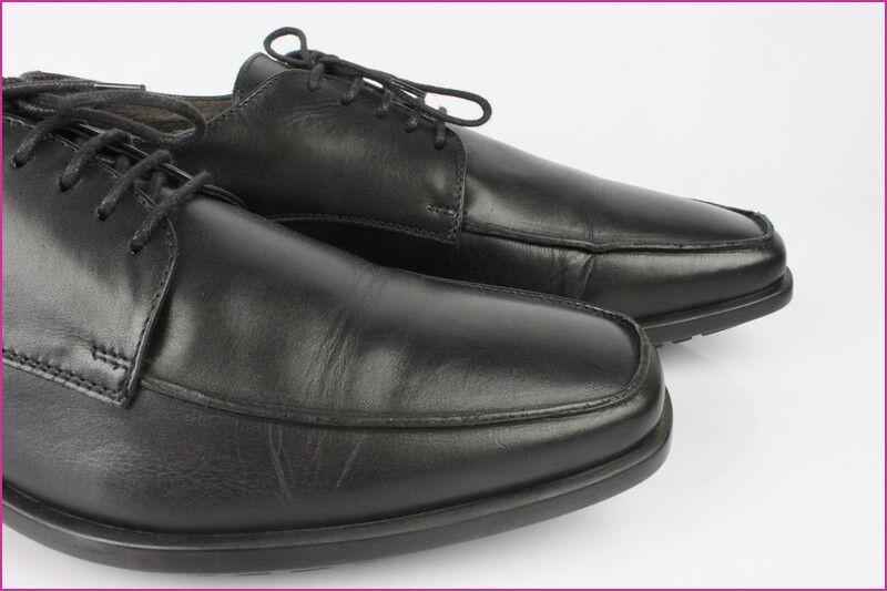 Oxfordschuhe HARDRIGE Paris Leder schwarz schwarz schwarz t 11   45,5 Zustand fast neu 6f9e64
