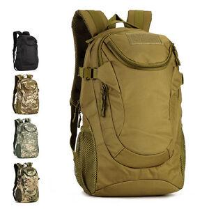 Mens Military Backpack 25l1000d Nylon Backpack Hiking Rucksack
