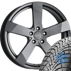 4x-alloy-wheels-MITSUBISHI-Grandis-NA0W-195-65-R15-91T-Continental-winter