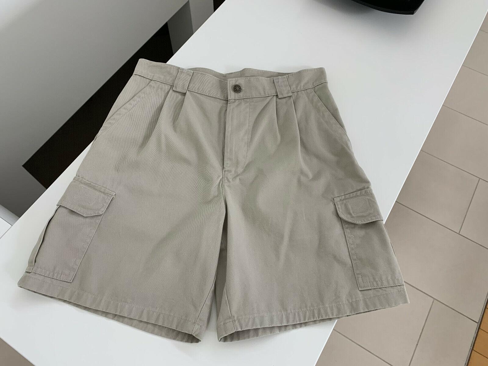 4EVER Wear Damen Safari Wander Bermuda Gr. 32/81 Beige 100% Cotton NEU