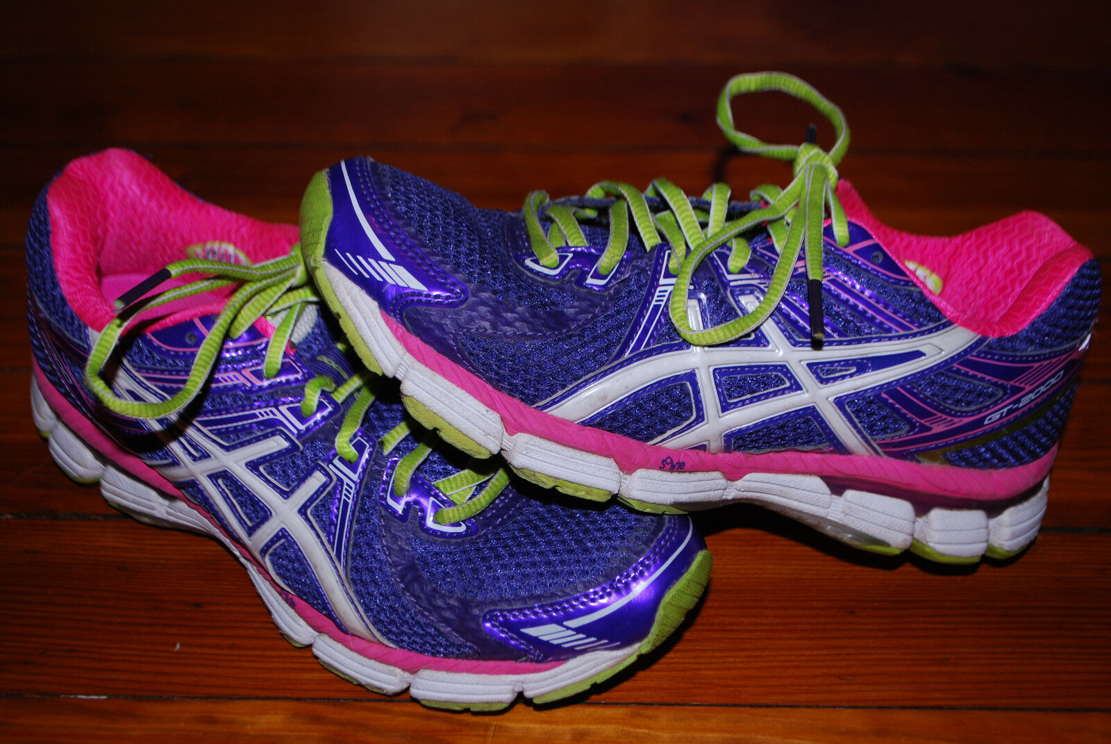 Women's Asics GT-2000 Purple & Pink Running Sneaker (7)