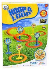 Grafix  Hoop A Loop Quoits Set Garden Beach Kids Family Game Toys