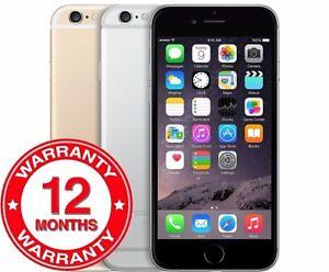 Apple iPhone 6 - 16/64/128GB - All Colours - Unlocked Smartphone - Grade A/B/C
