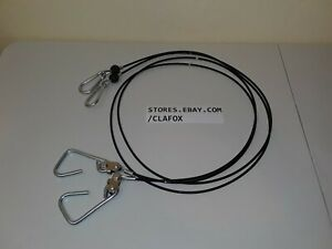 """Bowflex 41/"""" Long Replacement Lat Cables For Xceed And Xtreme Includes New Pair"""