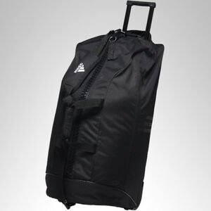 c06bc9dbb82 adidas martial arts Team Bag Rolling Wheeled Duffle Bag Carrier Bag ...