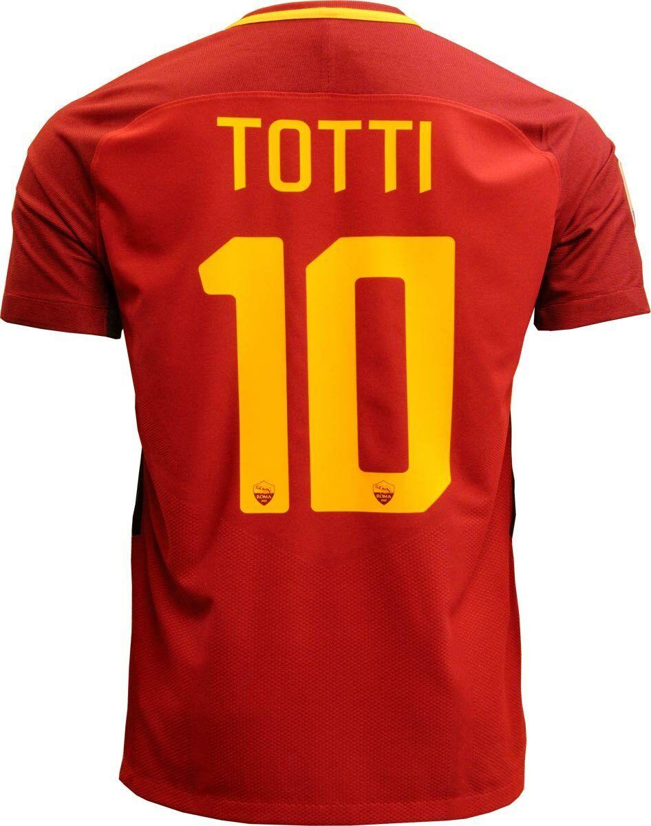 AS ROMA VAPOR ULTIMA MAGLIA TOTTI 2016-17 JERSEY SHIRT TRIKOT limited edition