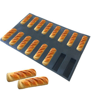 Bluedrop Silicone Bakery Sheets Non Stick Baking Molds