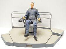 Star Trek Enterprise Art Asylum 2002 Captain Archer with Bridge Section NIP