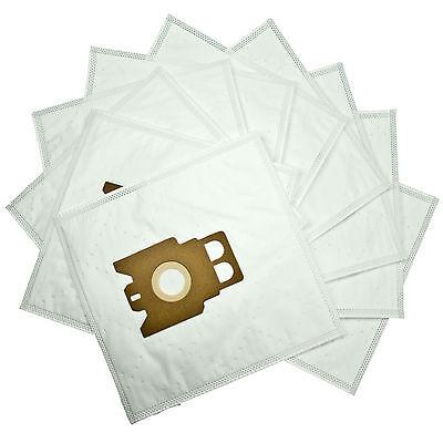 10x Staubsaugerbeutel Papier für MIELE Total Care 2000 Tropic Turbo
