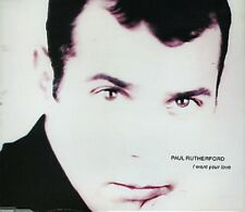 """Paul Rutherford I Want Your Love Uk 12"""" Frankie"""
