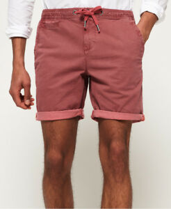 Neue Herren Superdry Sunscorched Short Washed Pink Hounds T Washed Pink Hounds