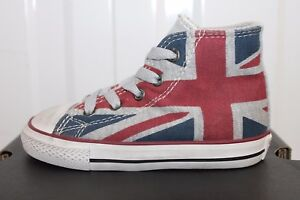 43cdf142b4d4 Image is loading INFANTS-CONVERSE-CHUCK-TAYLOR-UNION-JACK-TRAINERS-740565C-