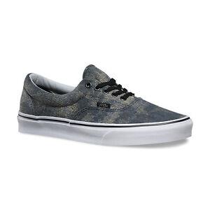 d1d0fc5da976af Vans Era Denim Canvas Men Skate Shoes Vans Era Acid Denim Navy ...