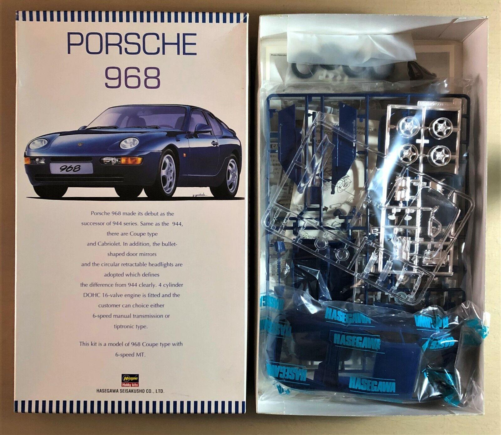Hasegawa 20109-Porsche 968 - 1 24 Plastic Kit