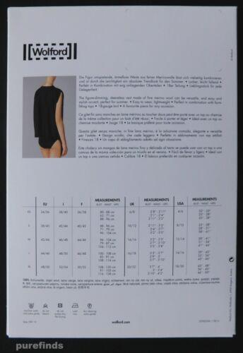 laine 100 dans Vest Fine Wolford Small Merino Rose Tan sa boîte Neuve vierge 64w0x