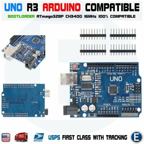 Arduino UNO Basic Kit CH340G MB102 830 Breadboard 65pcs jumper cable USB