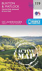 Buxton & Matlock, Chesterfield, Bakewell & Dove Dale by Ordnance Survey (Sheet map, folded, 2016)