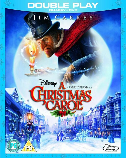 A Christmas Carol - UK Blu Ray and DVD - Walt Disney