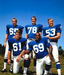 Details about WILLIE YOUNG GREG LARSON PETE CASE HARPER 1969 NEW YORK GIANTS ORIGINAL PHOTO 1