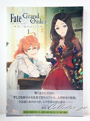 3-7 DaysFate//Grand Order Material 1-5 Art Books Complete Set from JP