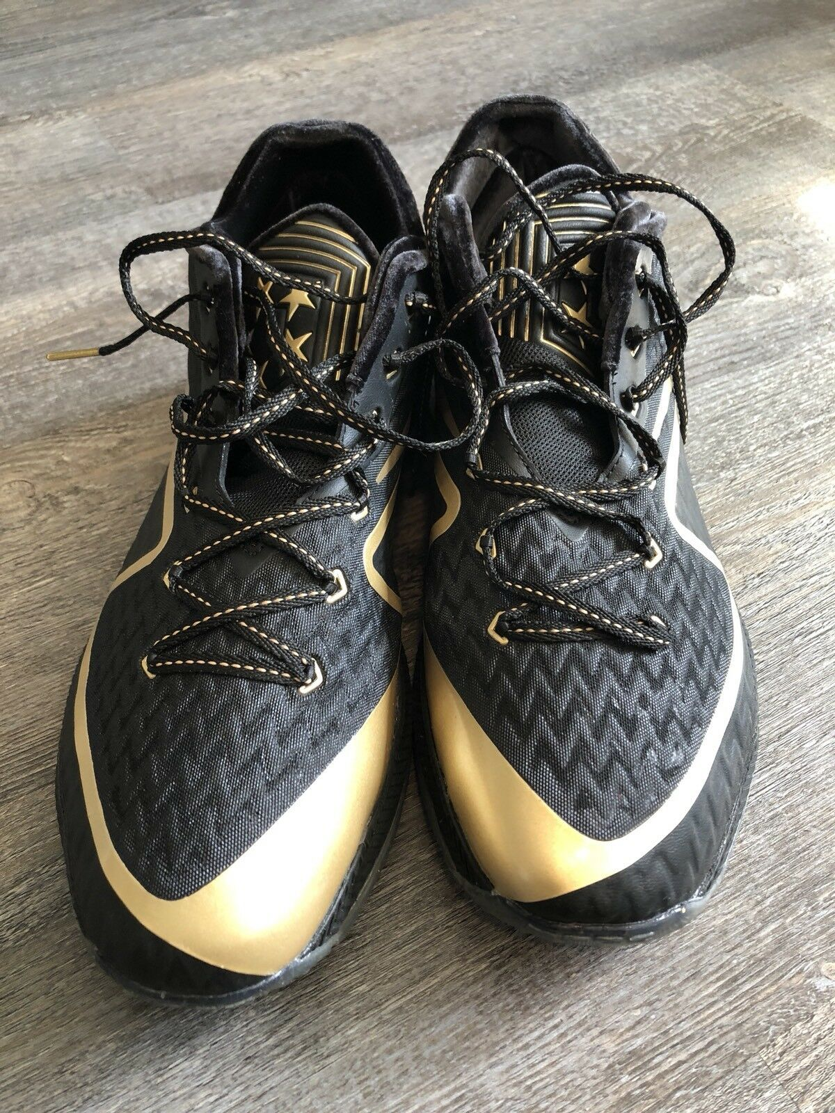 Nike Field General 2 (NFL) Super Bowl 50 SB50 Black Gold Sz 14