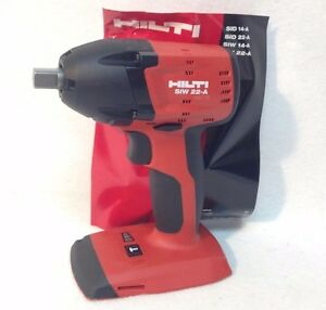 hilti siw 22 a 18v li ion 3 speed impact wrench 1 2 replace siw 18 a new ebay. Black Bedroom Furniture Sets. Home Design Ideas
