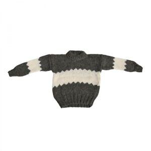 Strickpullover-NORWEGER-MODELL-14-Schafwolle-Unisex-Pulli-100-Wolle
