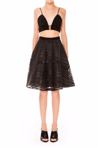 Cameo The Label Black Department Full Organza Overlay Circle Cut Full Skirt