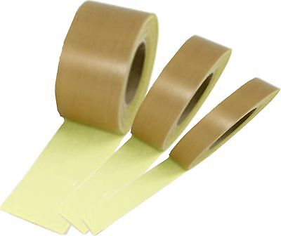 PTFE Teflon Heat Seal Tape Self Adhesive Vacuum Pack Packer ROLL Glass Woven