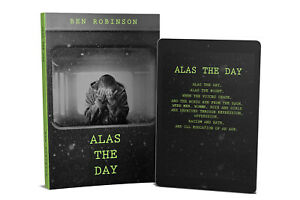 Alas the day poetry book signed and dedicated copy