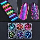 BORN PRETTY Chameleon Nail Sequins Colorful Irregular Glitter Powder Flakies