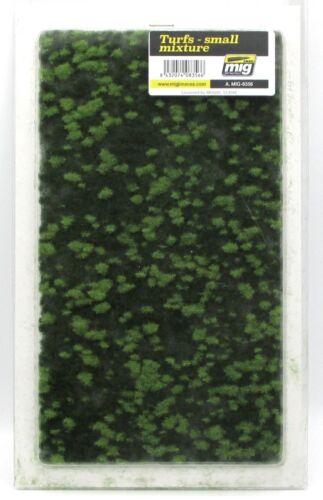 AMMO Turfs Small Mixture Grassy Terrain Landscape Field  Mig Jimenez Grass Mat