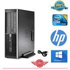 HP Computer Core 2 Duo Desktop Computer PC 4GB 250GB Windows 10 FAST