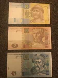 UKRAINE  uncirculated banknotes - Liverpool, United Kingdom - UKRAINE  uncirculated banknotes - Liverpool, United Kingdom