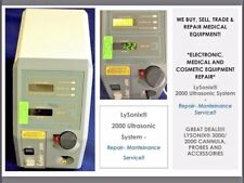 Lysonix 2000 Liposuction System Medical Equipment Evaluation Amp Repair Service