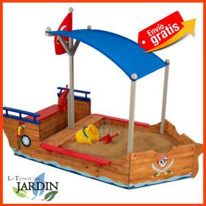Bateau-Pirate-Bac-pour-Enfants-Kidkraft-Jardin-Jouets-Jeux-Exterieur-Toys