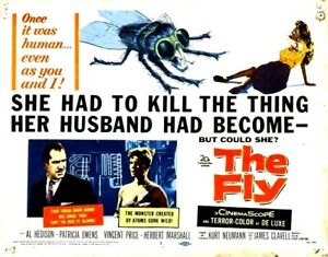 35mm-Feature-Film-THE-FLY-1958-Horror-VINCENT-PRICE-Magoptical-SCOPE