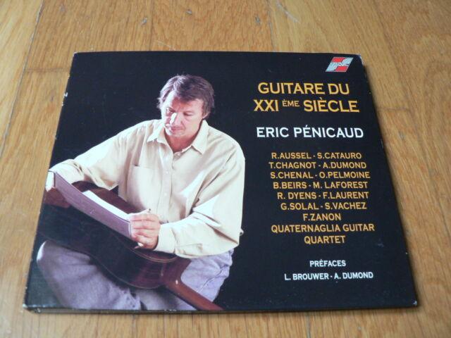 Eric Pénicaud - Guitare du XXIème siècle - CD Digipack - Quantum 2010