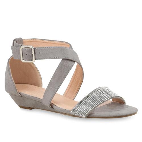 896000 Damen Keilsandaletten Sandaletten Keilabsatz Schuhe Sommer Modatipp