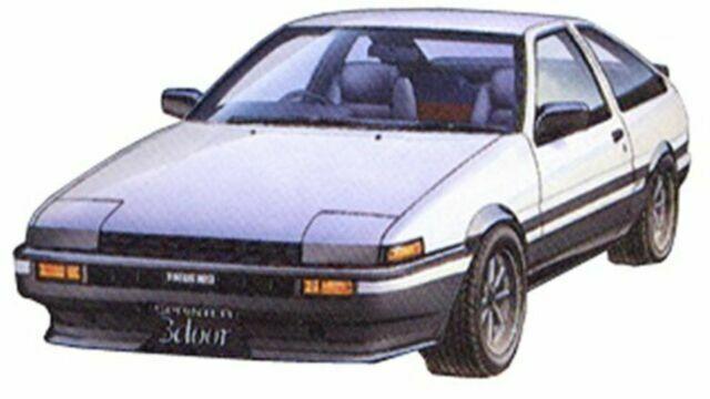 Fujimi model 1//24 inch up series No.52 AE86 Trueno Early Type /'83 Plastic ID52