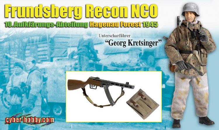 DRAGON 1 6 Unterscharfuhrer  Georg Kretsinger  Frundsberg Recon NCO - 70726