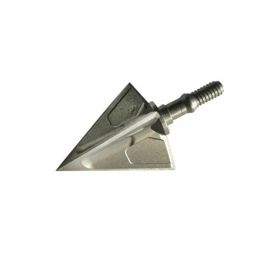 6pcs Broadheads 125Grain 3 Blades Screw-in Arrowhead Crossbow Hunting Archery X3