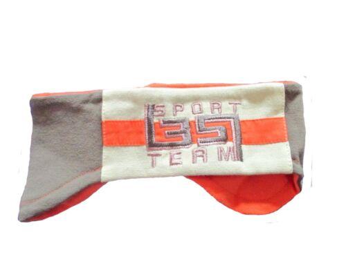 Sterntaler Stirnband Sport 35 Team orange mit Grüntönen Neu 22752 Größe 47