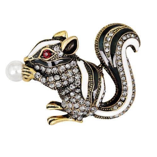 1 Stück Eichhörnchen  Stil Hübsche Accessory Party Ornamente Mode Schmuck