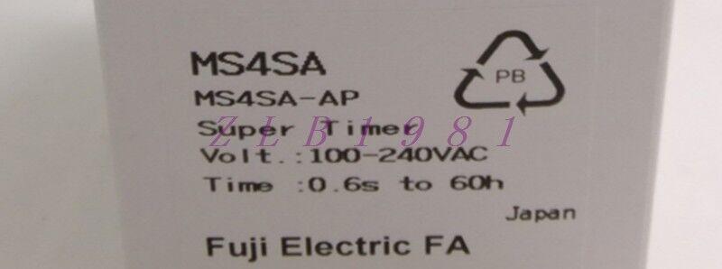 ONE NEW FUJI MS4SA-AP 100-240VAC