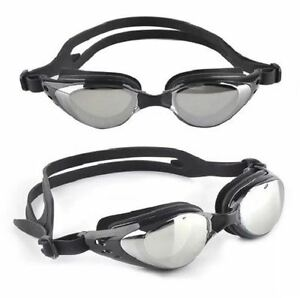 UV-Protection-Anti-Fog-Adult-Adjustable-Swimming-Swim-Goggles-Glasses-Case-NEW